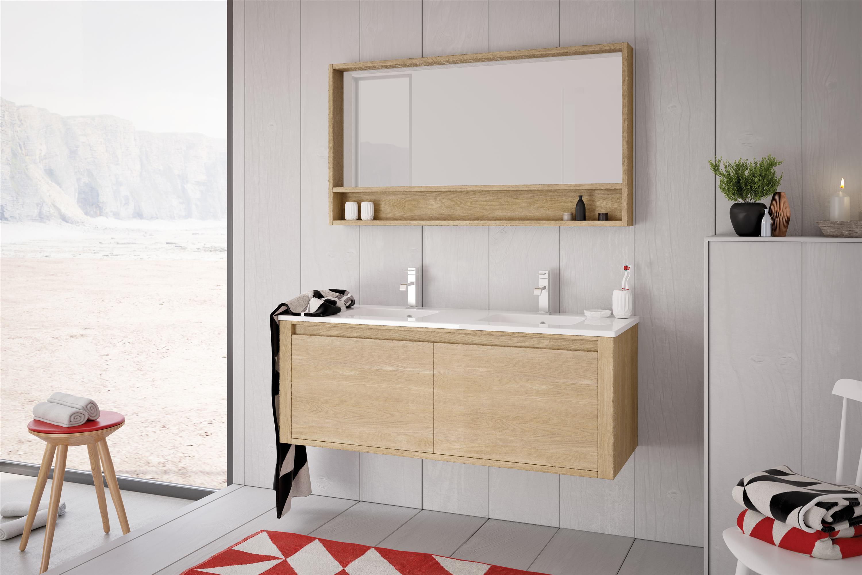 Meuble salle de bain Vague du nord - Vente et pose en Moselle